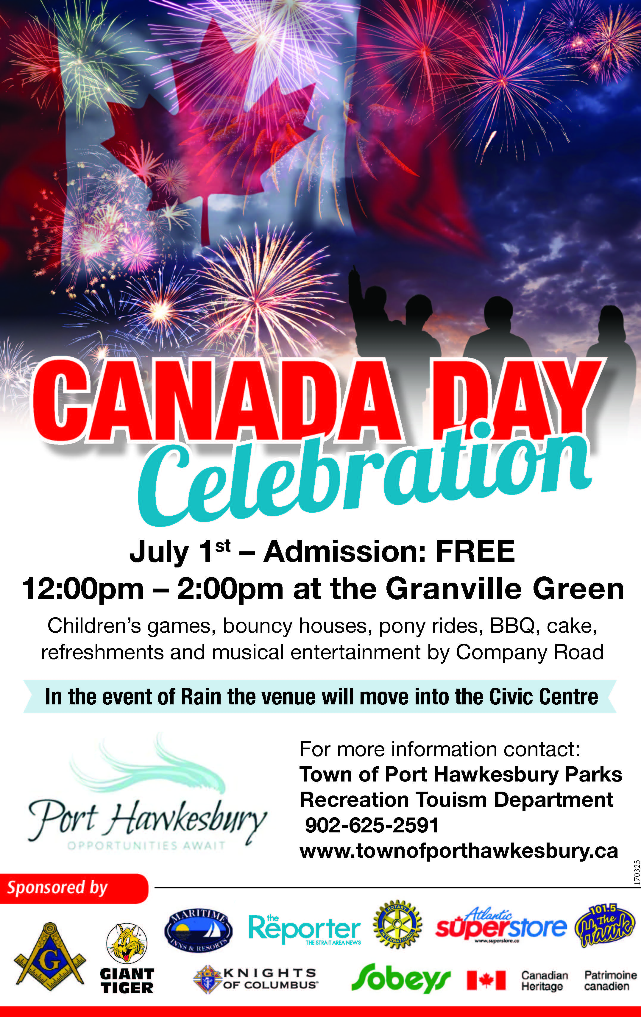 Town of Port Hawkesbury - Canada Day Celebrations!